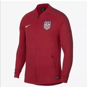 Nike men's Team USA Soccer Full Zip Jacket